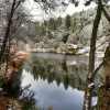Thumbnail image for #FriFotos Festive Fresh Snowfall Over Lake Fulmore