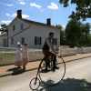 Thumbnail image for #FriFoto – A Vintage Cyclist at Historical Greenfield Village, Dearborn Michigan