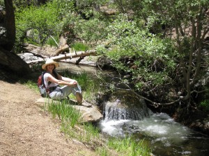 sitting-by-willow-creek-idyllwild-california