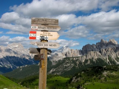 Post image for Italian Dolomites: Foxes, Fox Holes, Foot Paths, and Food