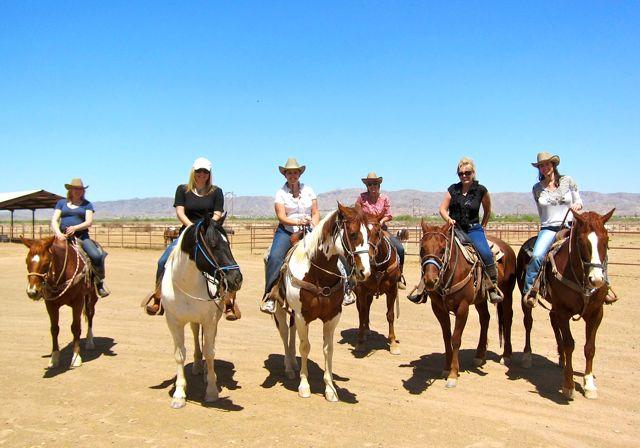girl-gang-riding-horses-wild-horse-pass-phoenix