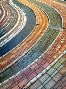 image-acstract-pattern-walkway-bologna-italy