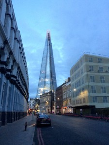 The London Shard is a newer architectural wonder of modern London.